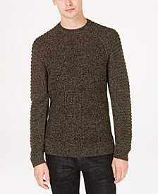 I.N.C. Men's Regular-Fit Ottoman-Sleeve Sweater, Created for Macy's