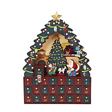 16 Inch Christmas Tree 24 Piece Advent Calendar