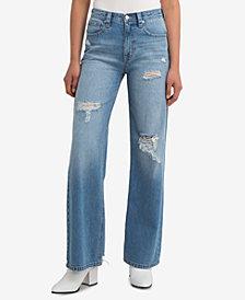 Jordache Gwynn High-Rise Wide-Leg Jeans