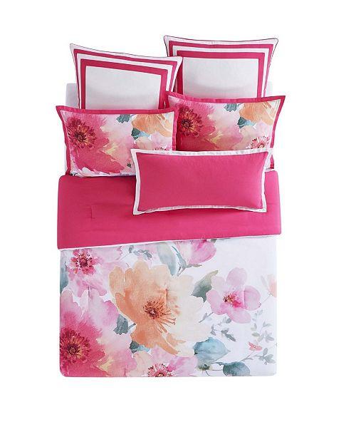 ce71256cd7233 Christian Siriano Bold Floral King 3 Piece Duvet Cover Set - Duvet ...