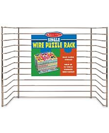 Melissa & Doug Wire Puzzle Storage Rack