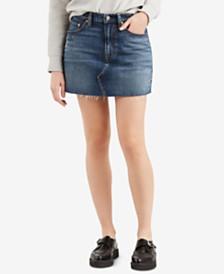 Levi's® Deconstructed Jean Skirt