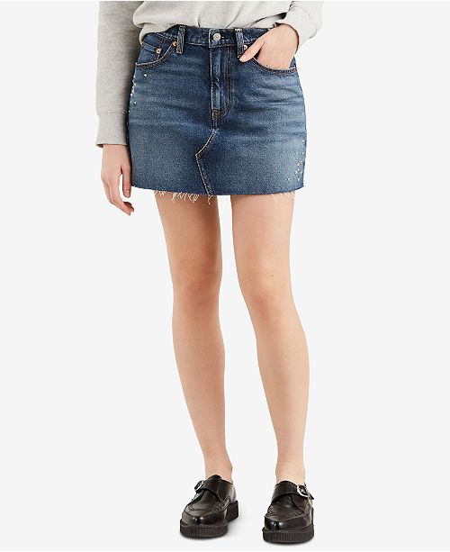 b3cfd48128 Levi's Deconstructed Jean Skirt & Reviews - Skirts - Juniors - Macy's