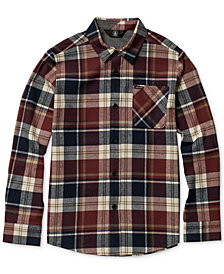 Volcom Toddler Boys Caden Plaid Shirt
