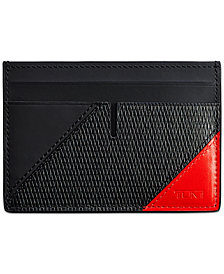 Tumi Men's Nassau Slim Colorblocked Card Case