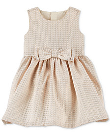 Carter's Baby Girls Jacquard Bow Dress