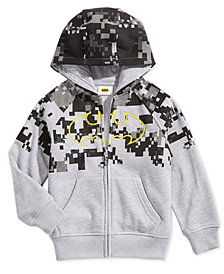DC Comics Toddler Boys Batman Zip-Front Hoodie