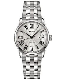 Mido Women's Swiss Automatic Belluna II Stainless Steel Bracelet Watch 33mm