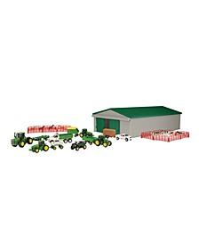 - Ertl 1:64 John Deere Farm Toy Playset
