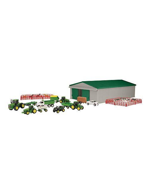 TOMY - Ertl 1:64 John Deere Farm Toy Playset