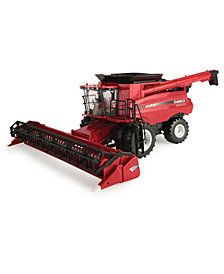 Big Farm Case Ih 8240 Combine M2 1-16 With 3020 Grain Head