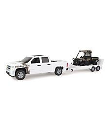 Big Farm 1-16 Realtree Chevrolet Pickup With John Deere Gator