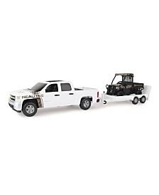 Tomy - Big Farm 1:16 Realtree Chevrolet Pickup With John Deere Gator