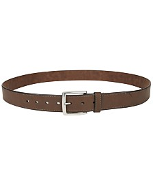 Club Room Men's Big & Tall Casual Belt, Created for Macy's