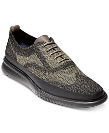 Cole Haan Men's 2.Zerogrand Stitchlite Water Resistant Oxfords
