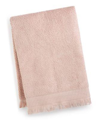 "Dorinda Cotton 30"" x 56"" Fringe Bath Towel, Created for Macy's"