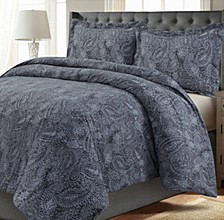 Madrid Printed Oversized Twin Duvet Cover Set