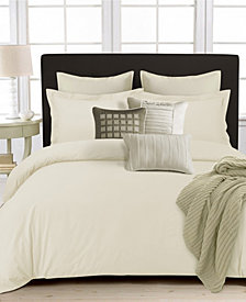 350 Thread Count Cotton Percale Oversized Queen Duvet Covet Set