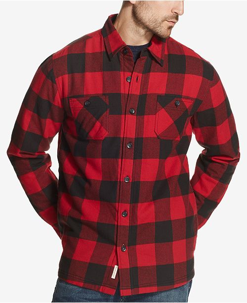 Weatherproof Vintage Men's Vintage Shirt Jacket