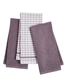 Goodful™ 3-Pc. Organic Cotton Kitchen Towel Set