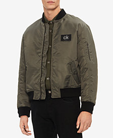 Calvin Klein Men's Oversized Flight Jacket