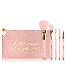 Too Faced Christmas Dreams 5 Piece Brush Set