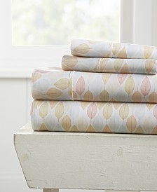 The Boho & Beyond Premium Ultra Soft Pattern 4 Piece Bed Sheet Set by Home Collection  - Cal King