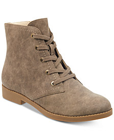 indigo rd. Abelly Lace-Up Desert Booties