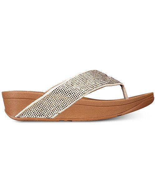 5d3e3f9f8 FitFlop Ritzy Toe-Thong Sandals   Reviews - Sandals   Flip Flops ...