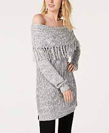 INC Foldover Off-The-Shoulder Sweater, Created for Macy's