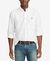1ca8d1242 Polo Ralph Lauren Men s Slim Fit Garment Dyed Oxford Cotton Shirt