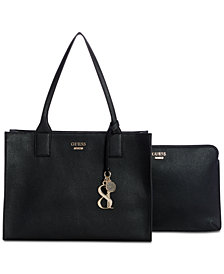 GUESS West Side Tote With Laptop Sleeve