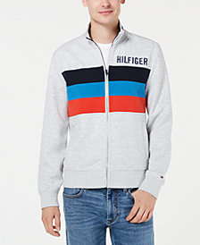 Tommy Hilfiger Men's Gallen Stripe Logo Sweatshirt