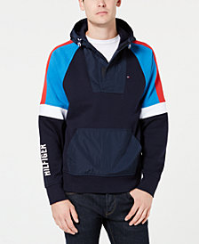 Tommy Hilfiger Men's Victor Colorblocked Hooded Sweatshirt