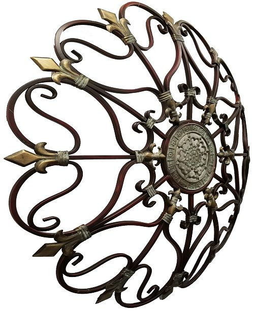 Benzara Fabulous Metal Wall Decor
