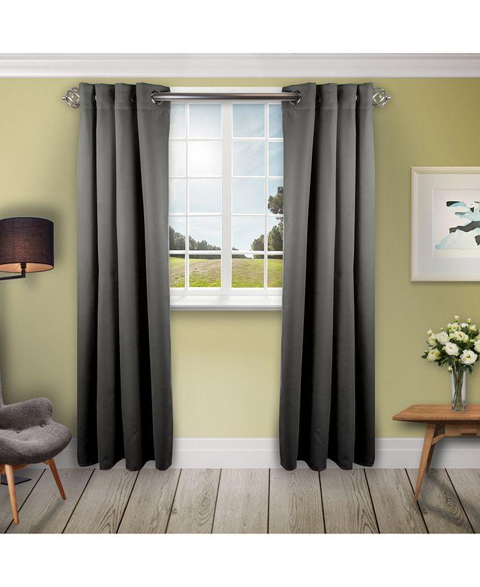 "Rod Desyne - Room Darkening Curtain - Turquoise 52"" x 96"""