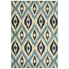 "Oriental Weavers Linden 7825C Blue/Grey 6'7"" x 9'6"" Area Rug"