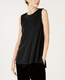 Eileen Fisher Sleeveless Shell Top