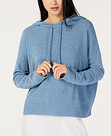Eileen Fisher Cotton Hooded Sweater, Regular & Petite