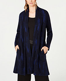 Eileen Fisher Tencel® Enveloping Sweater Jacket
