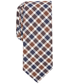 Penguin Men's Lyman Check Skinny Tie