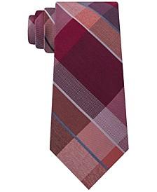 Men's Track Plaid Silk Tie