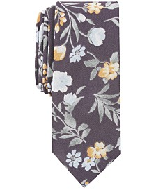 Penguin Men's Underwood Floral Skinny Tie