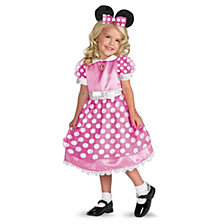 Disney Clubhouse Minnie Mouse Little Girls Costume
