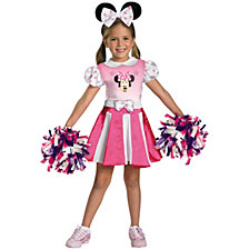 Mickey Mouse Clubhouse Minnie Mouse Cheerleader Toddler Girls Costume