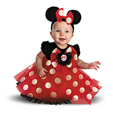 Disney Red Minnie Mouse Baby Girl Costume