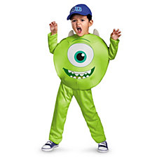 Monsters U Mike Little Boys Classic Costume