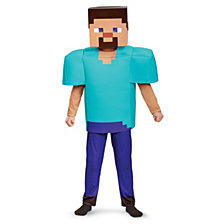Minecraft Steve Deluxe Big Boys Costume