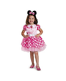 Minnie Mouse Pink Minnie Mouse Toddler Girls Costume