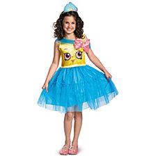 Shopkins Cupcake Queen Little Girls Costume